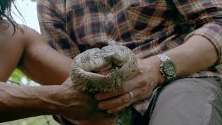 Catching a giant anaconda - Tribes, Predators & Me: Episode 1 Preview - BBC Two