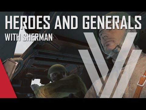 Heroes and Generals Gameplay (ft. The Shermanator) - Russian T-20 Komsomolets