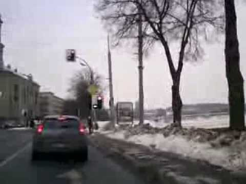 Weather in Vilnius, Lithuania, 2010-02-10, minus 6, from Oras TV