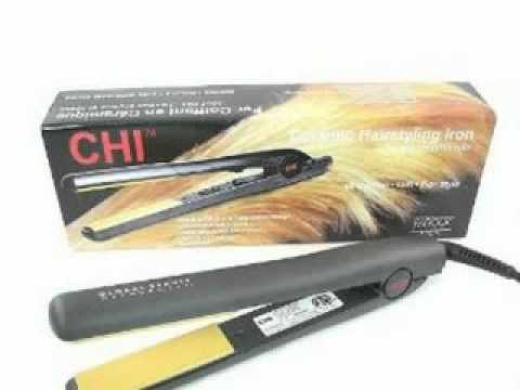 Hair Styling Iron Beauteous Farouk Chi 1  Flat Hairstyling Iron  Youtube