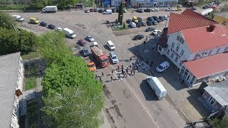 Жителі Житомирщини перекрили дорогу Житомир-Черняхів, аби змусити владу відремонтувати її