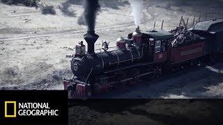 Amerykańska kolej z czasów wojny secesyjnej zadziwiała stylem podróżowania. [Potęga Techniki]