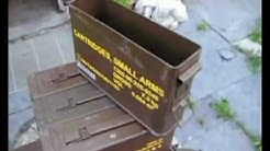 7.62mm Ammunition Ammo Can Crates