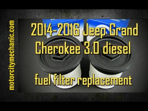 2014 2016 jeep grand cherokee 3 0 diesel fuel filter. Black Bedroom Furniture Sets. Home Design Ideas