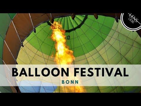 Balloon festival 2017 - Bonn, Germany - Timelapse