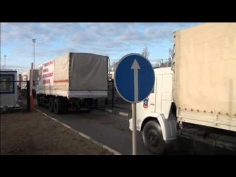 Another Russian Convoy Crosses into Ukraine: Russia claims trucks carrying humanitarian aid