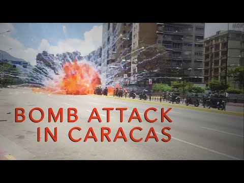 Bombing Police in Caracas - Violence escalades in Venezuela's protests