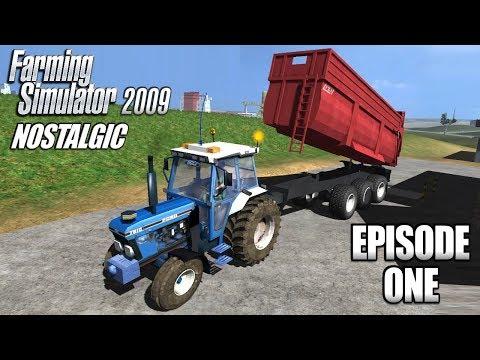 Nostalgic Farming Simulator 09 - Rediscovering the Mods - Episode 1