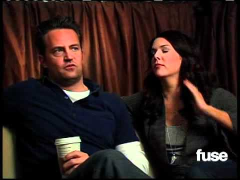 lauren graham  u0026 matthew perry the fuse interview youtube