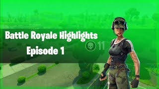 Qyk Clips - Fortnite Highlights |Episode 1|