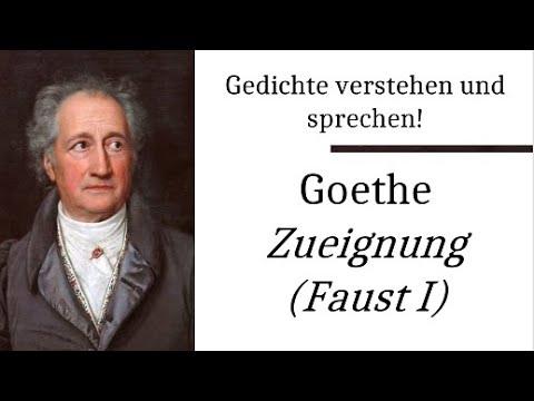 Johann Wolfgang v. Goethe: Zueignung (Gedichte-Karaoke 18) Rezitation/Analyse