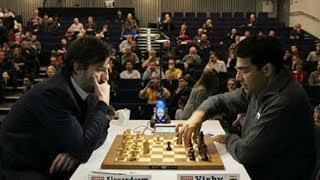 Indian tiger Vishy Anand took 4 min in his 4th move against Grishchuk and defeated him in style