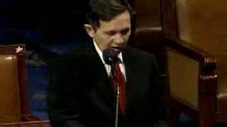 KUCINICH: Takes House Floor, Moves for Cheney Impeachment