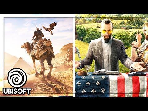 E3 2017 Ubisoft Event : Far Cry 5, Assassin's Creed Origins & More!