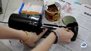 DIY Automatic Electric Cigarette Rolling Machine / Maker w/ Brush