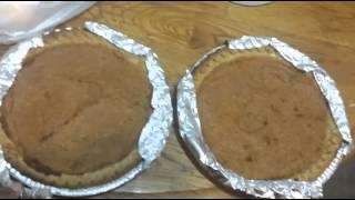 Sweet Potato Pie Recipes: Homemade Eggnog Sweet Potato Pie Recipe