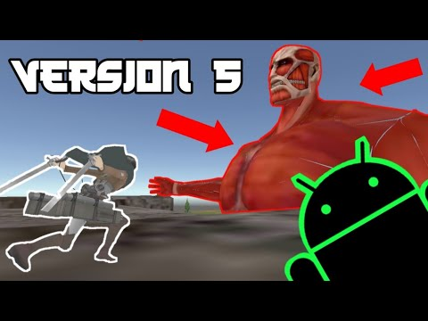 Attack On Titan Android COLOSSAL TITAN UPDATE (DOWNLOAD)