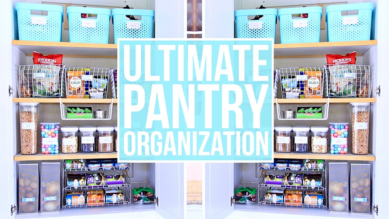EASY Pantry Organization! How to Organize Your Pantry - YouTube