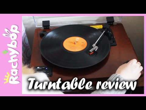 Turntable Review! [Bluetooth, MP3, Vinyl record player]