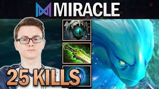 NIGMA.MIRACLE MORPHLING WITH 25 KILLS - DOTA 2 7.23 GAMEPLAY