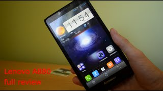 Lenovo A880 unboxing and full review