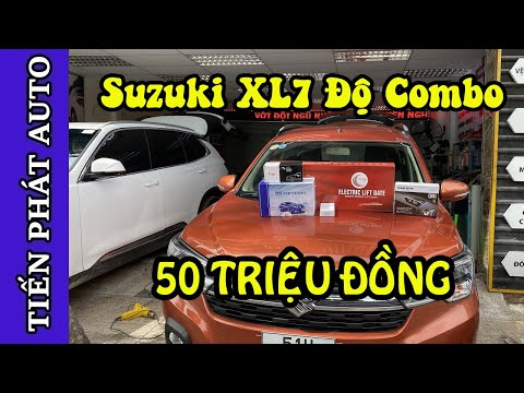 Suzuki XL7 Độ Gói Combo 50 Triệu Đồng Với Loạt Đồ Chơi Chất Tại Tiến Phát Auto