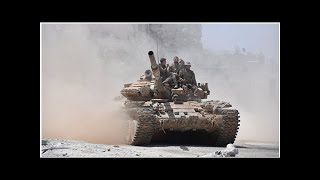 В Сирии боевики одного из крупнейших опорных пунктов сдают тяжелое оружие