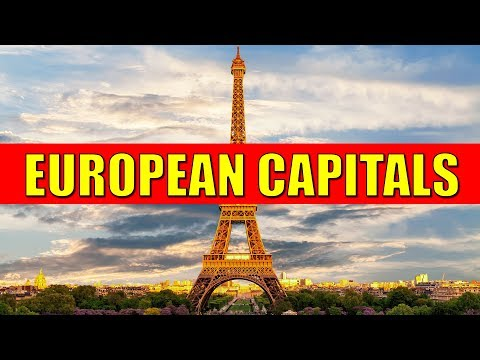EUROPEAN CAPITALS - Learn Countries And Capital Cities Of Europe With Flags