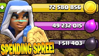 GEMMING THE GOLD PASS AND BUYING SICK OFFERS! - Clash of Clans