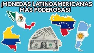 ¡MONEDAS MÁS CARAS DE AMÉRICA LATINA!