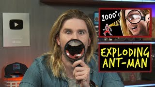 Exploding Ant-Man | Because Science Footnotes