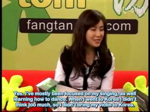[ENGSUB] 2008.03 TOM Interview - Zhang Li Yin (Part 3)