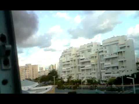 grad rocket fall next to my house in Ashdod