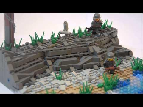 Lego moc france 1940 youtube for Siege lego france