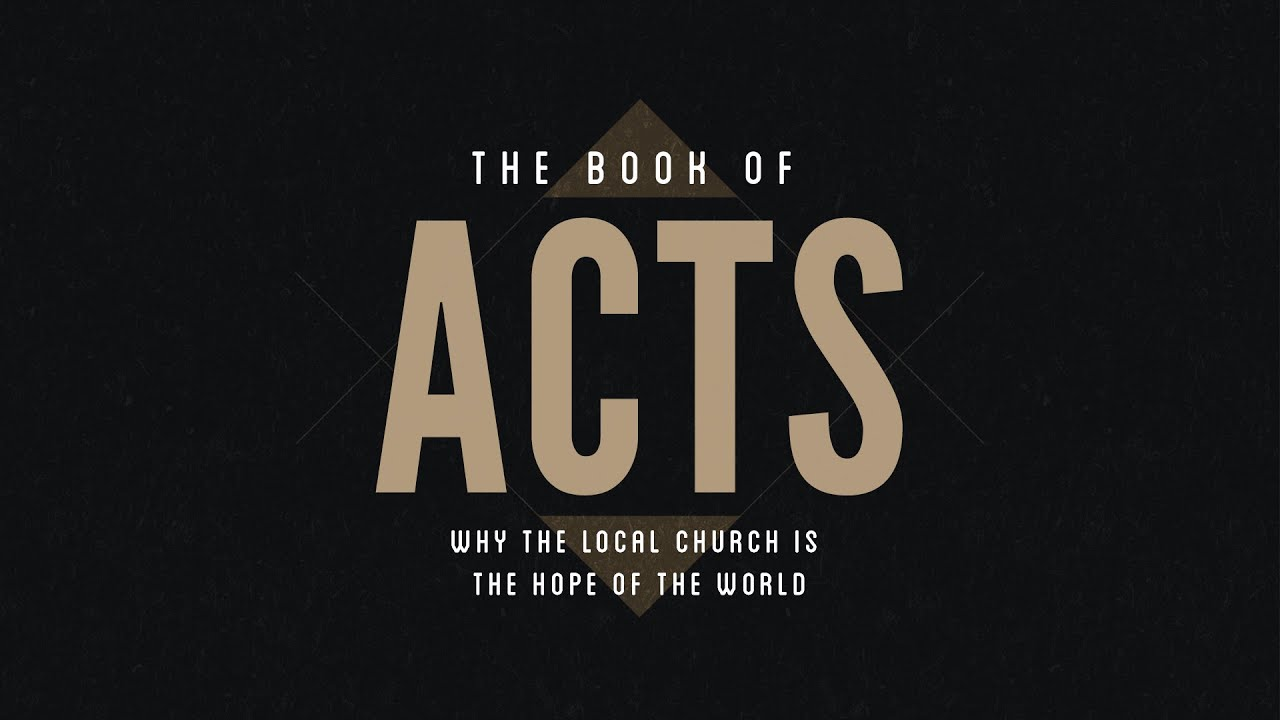 A Study Outline of Acts
