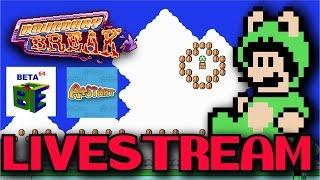 Super Mario Bros. 3 Glitch rooms ft. A+Start & Beta64 (04/09/17)