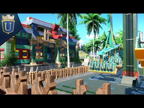 Temple Gift Shop | Planet Coaster | Alpine Odyssey | Part 26