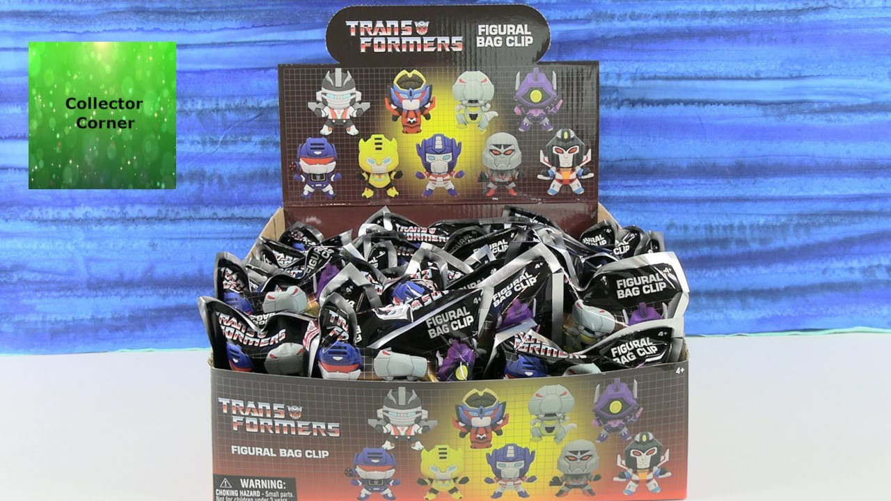 Transformers Figural Bag Clip Blind Bag Opening Review | CollectorCorner