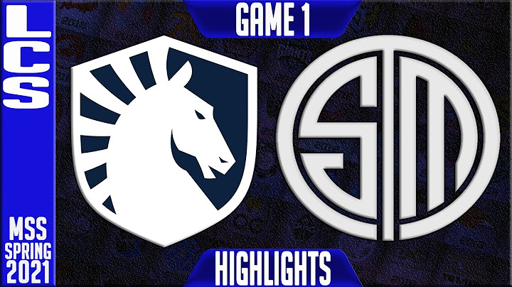 tl vs tsm highlights game 1  lcs mss spring 2021 playoffs semifinals  team liquid vs team solomid