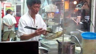 Famous Congee Noodles Wonton In Hong Kong