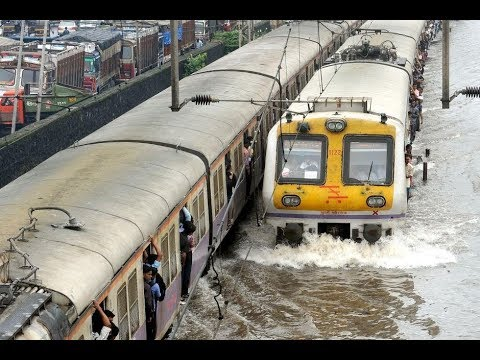 Mumbai Rains: Local Trains Affected