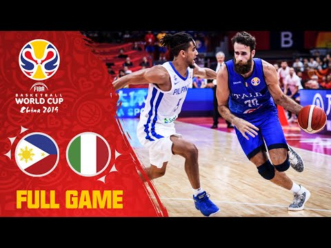 Philippines were NO MATCH for Italy! - Full Game
