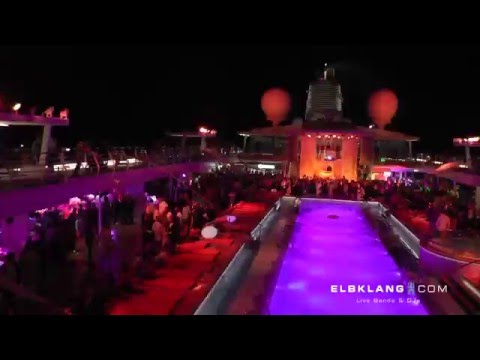 ELBKLANG DJ Plus LIVE Saxophon, Cruise Silvester Party