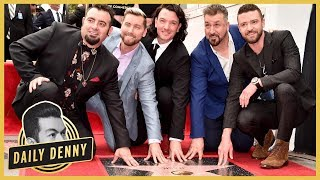*NSYNC Reunites! Watch the Band Get Their Star on the Hollywood Walk of Fame | Daily Denny