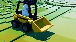 LEGO Worlds Gameplay buldozer