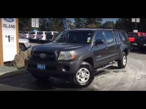 Gray 2011 Toyota Tacoma Canopy Running Boards Lined Box Review - Island Ford & Gray 2011 Toyota Tacoma Canopy Running Boards Lined Box Review ...
