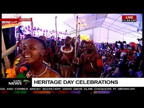 The National Heritage Day Celebrations in Kokstad, KwaZulu-Natal