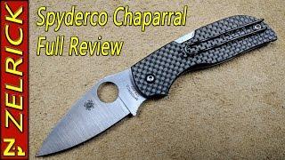 Spyderco Chaparral The Full Zel Review
