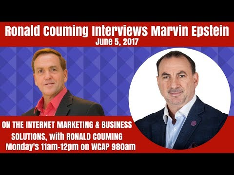 Marvin Epstein, Co-Founder of Karma International,  Pt 1 of 2, interviewed by Ronald Couming, 6-5-17