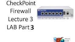 Checkpoint Firewall Basics